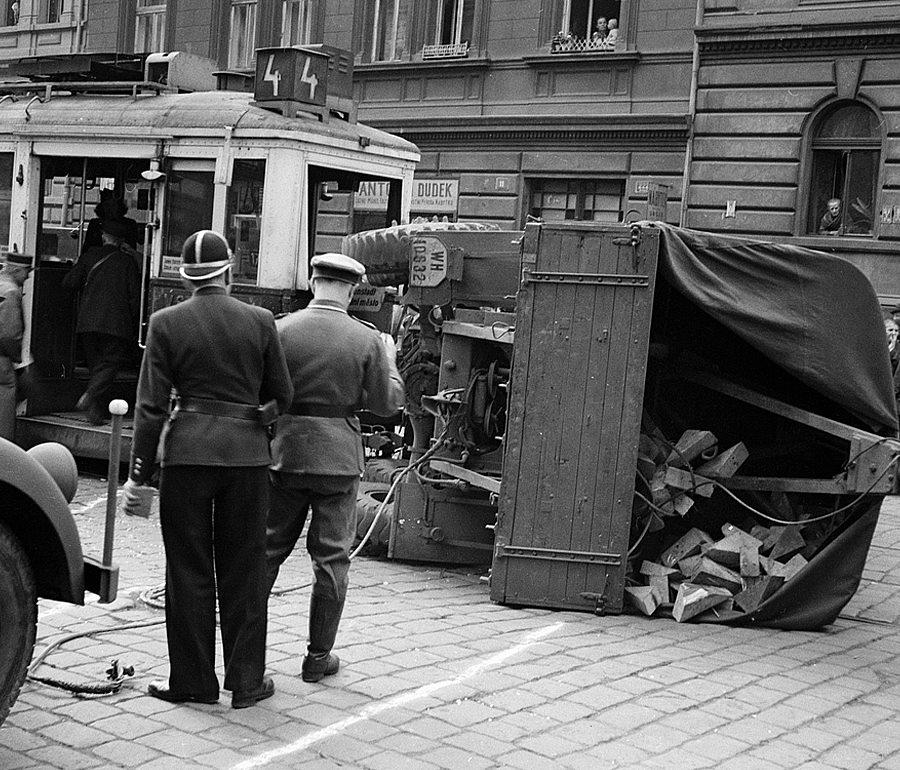 Havárie v Otakarově ulici