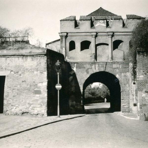 Táborská brána na Vyšehradě