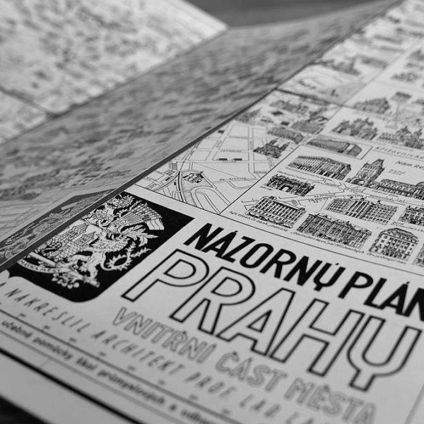 Je tohle ta nejúžasnější mapa Prahy, jakou jste kdy viděli?