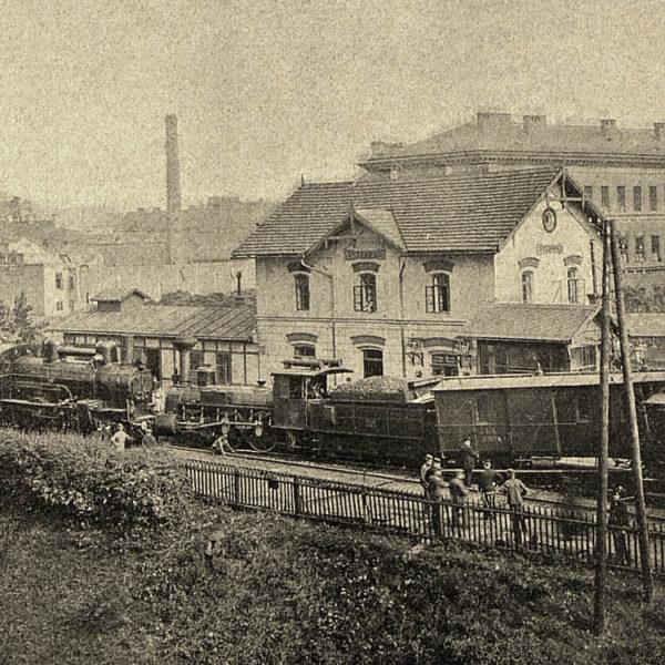 Pod Vyšehradem se srazily vlaky