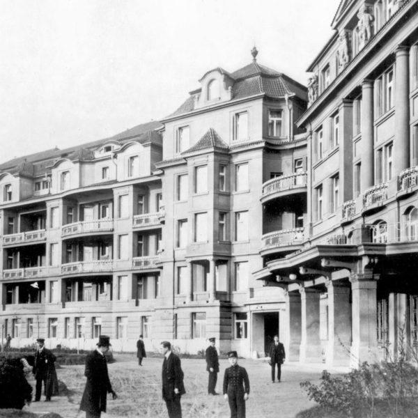 Grandšpitál pana Jedličky, ve kterém se narodila půlka Prahy