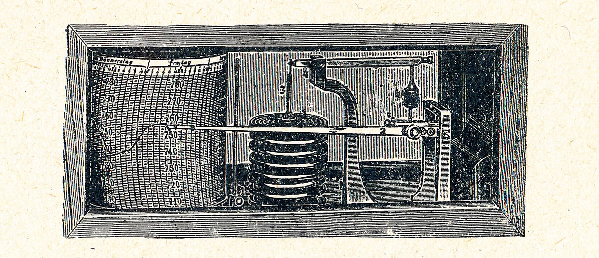 Limnigraf na Výtoni - barograf