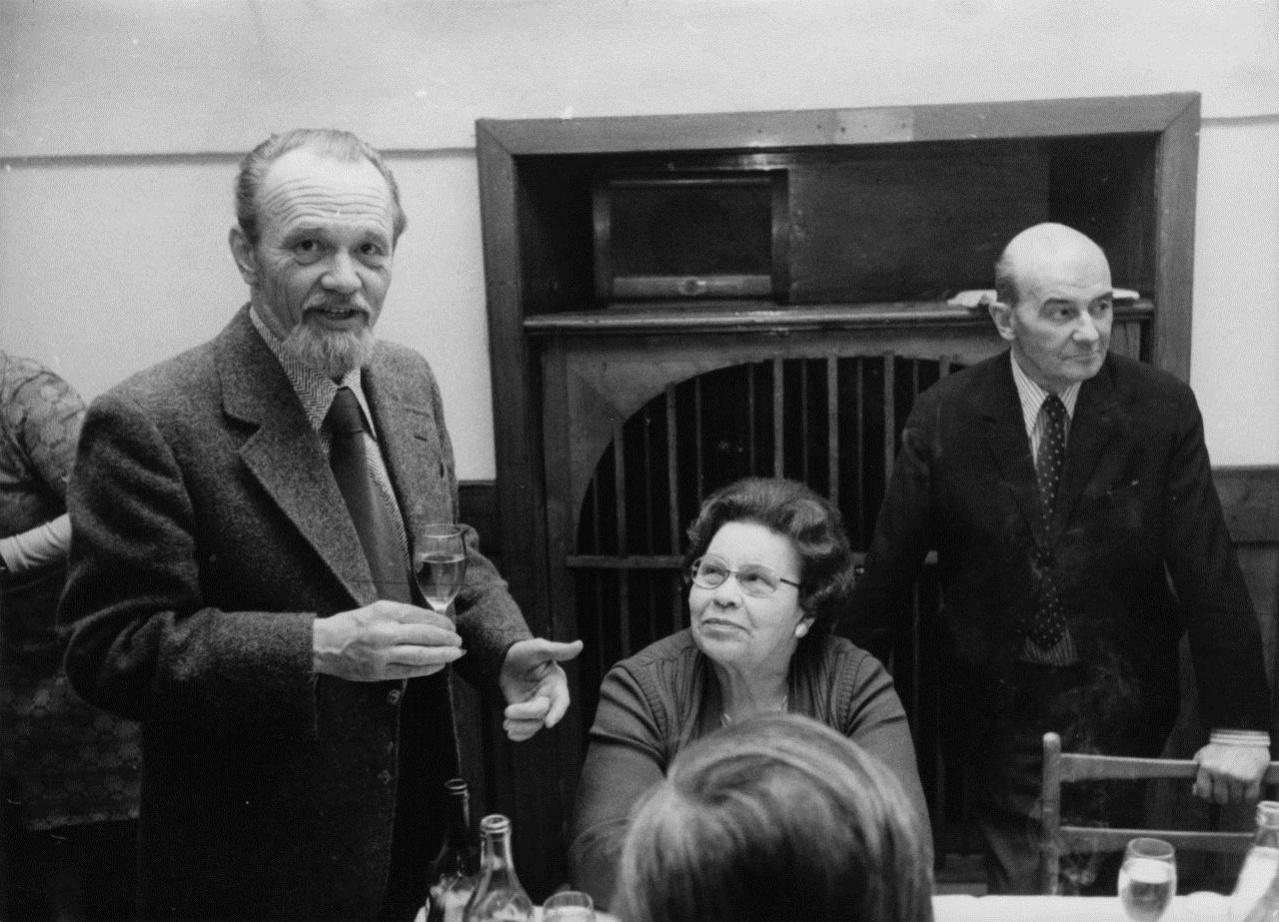 Kamil Lhoták a Anna Endrštová s Jaroslavem Králíkem