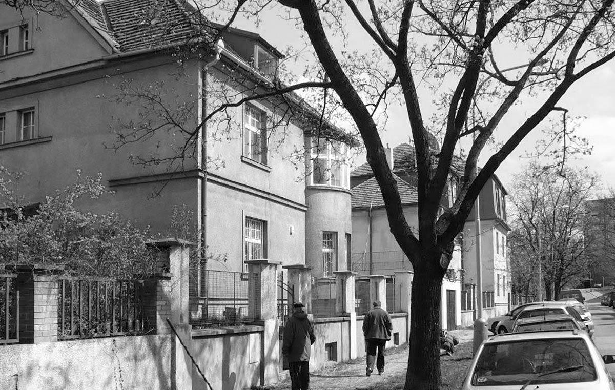 Původní dům na adrese Procházkova 3