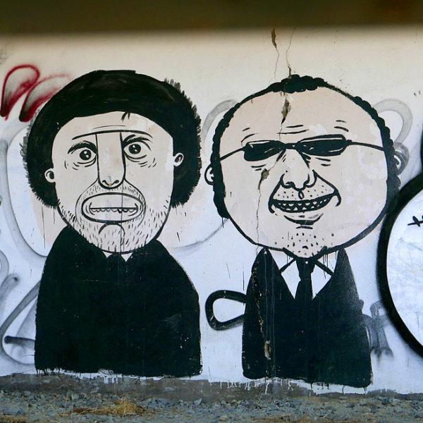 Vyšehradský Banksy odhalen!