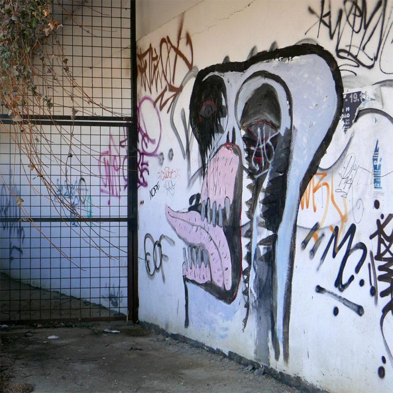 Street art na Vyšehradě