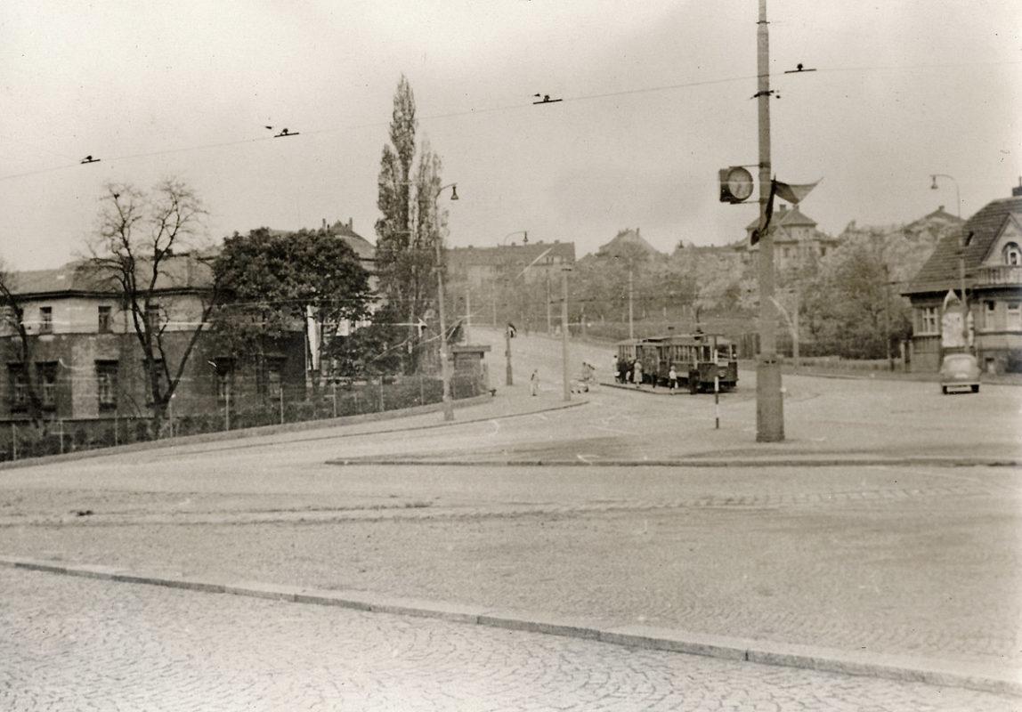 Heydrichova zatáčka v Libni