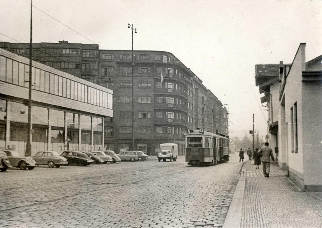 Bubenská ulice na Letné