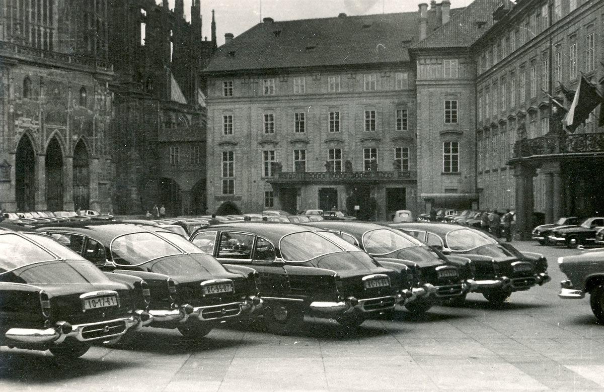 Tatry 603 na Pražském hradě