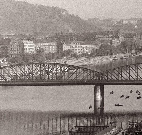 Zkáza Železničního mostu pod Vyšehradem