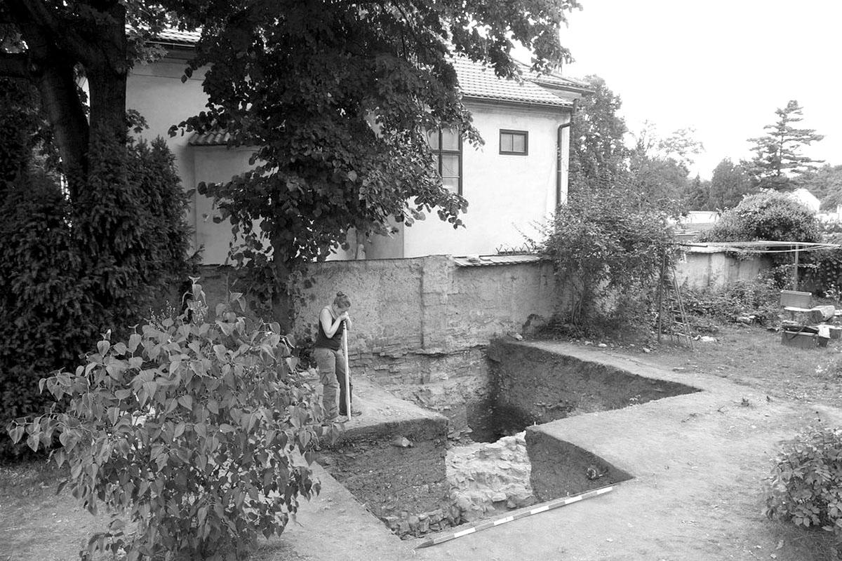 Archeologický výzkum předrománské stavby na Vyšehradě