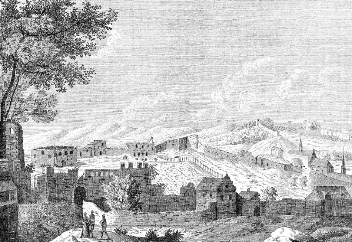 Jiljí Sadeler - Ruiny Vyšehradu