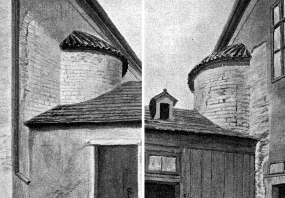 Bazilika sv. Vavřince – zachovaná apsida