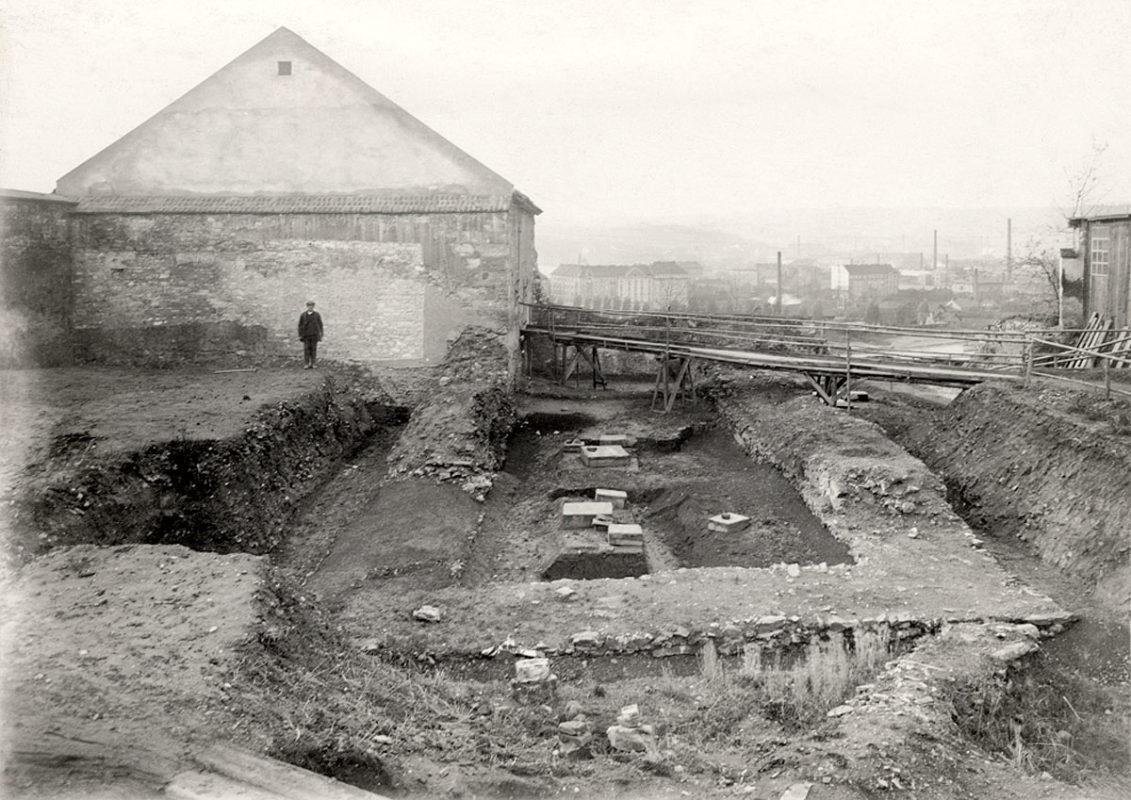 Archeologický výzkum na Vyšehradě