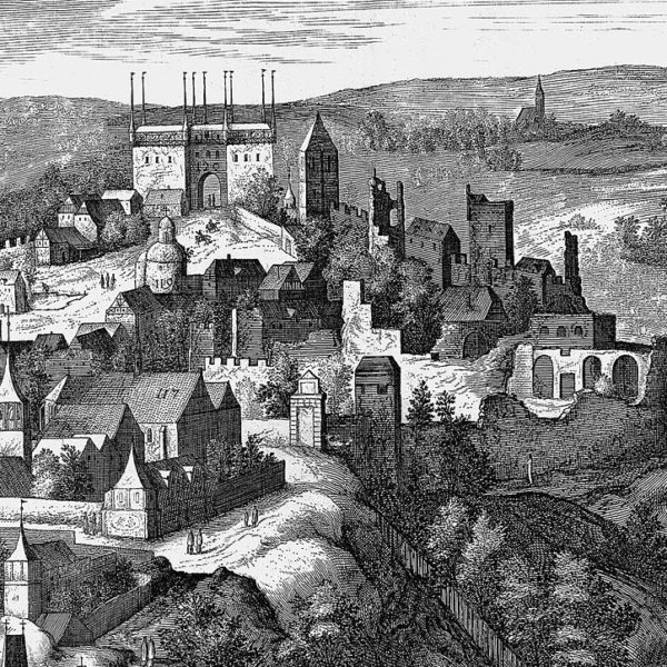 Pátrání po zmizelém Vyšehradu na obrazech rudolfínských mistrů