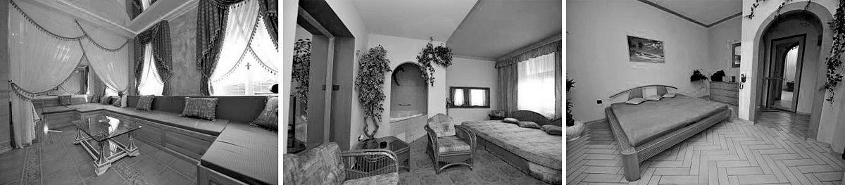 Interiéry nuselského nevěstince Escade Libuše Barkové
