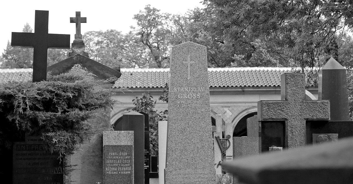 Hrob Stanislava Grosse na Vyšehradském hřbitově
