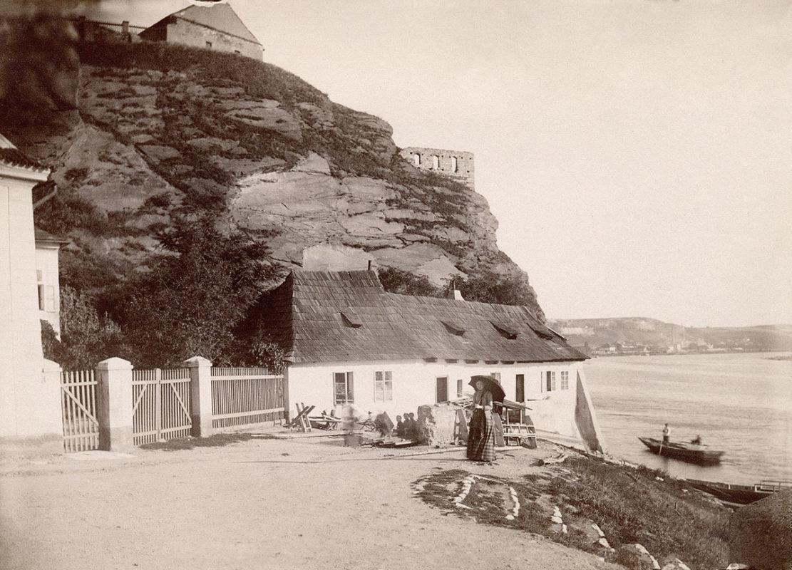 Vyšehradský přívoz v roce 1887