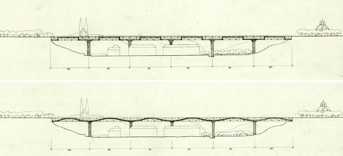 Nuselský most - Josef Fritsche