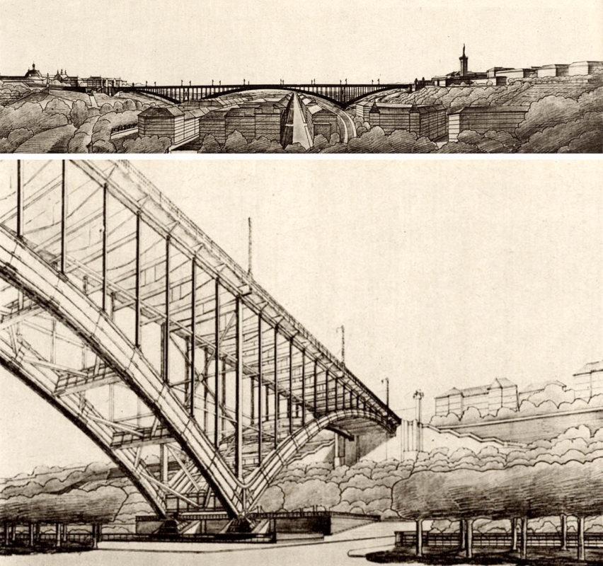 Nuselský most - Vlastislav Hofman (1927)