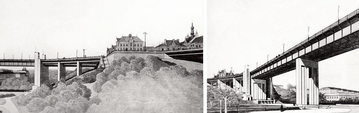 Nuselský most - Vlastislav Hofman (1938)