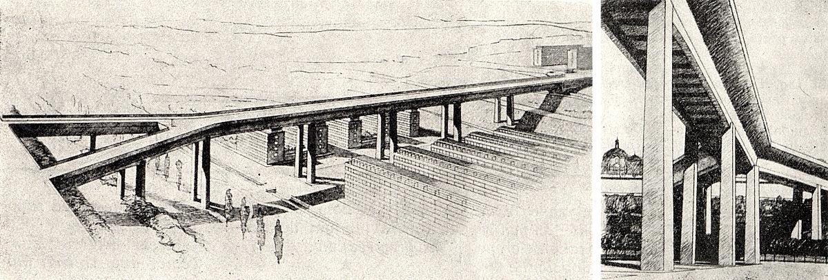 Nuselský most - Bohumír Kozák a Stanislav Bechyně (1938)