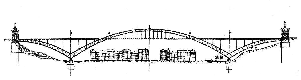 Nuselský most - Jaroslava Marjanko (1903)