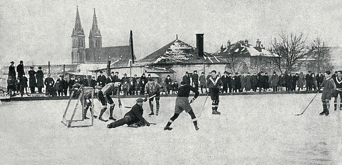 Hokej u vyšehradské poterny