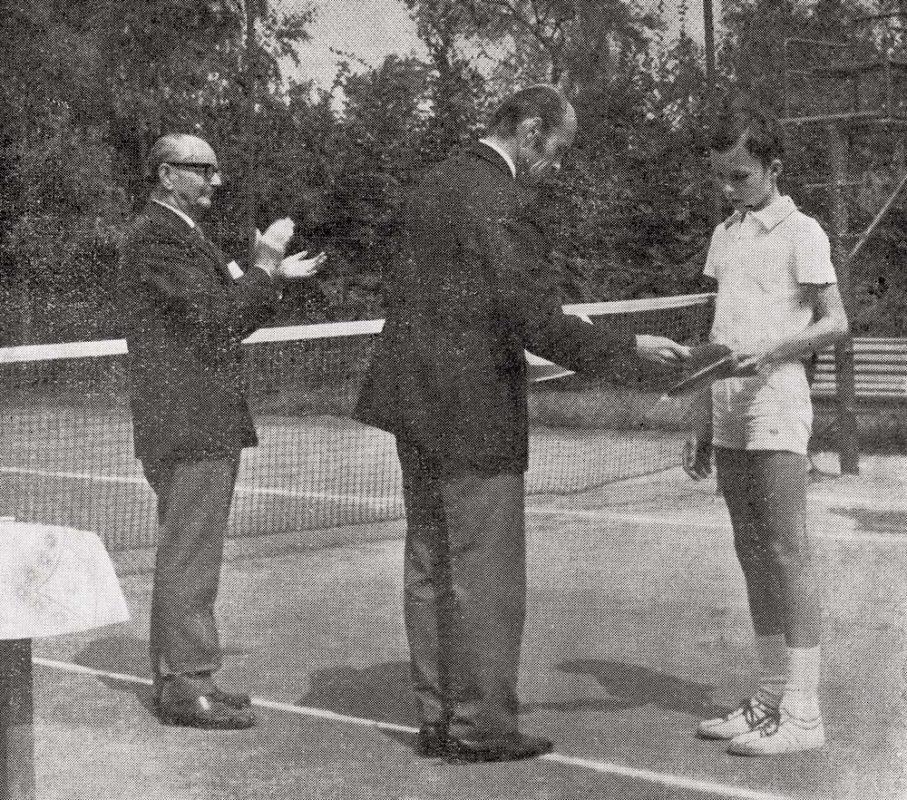 Tenis na Vyšehradě – Ivan Lendl