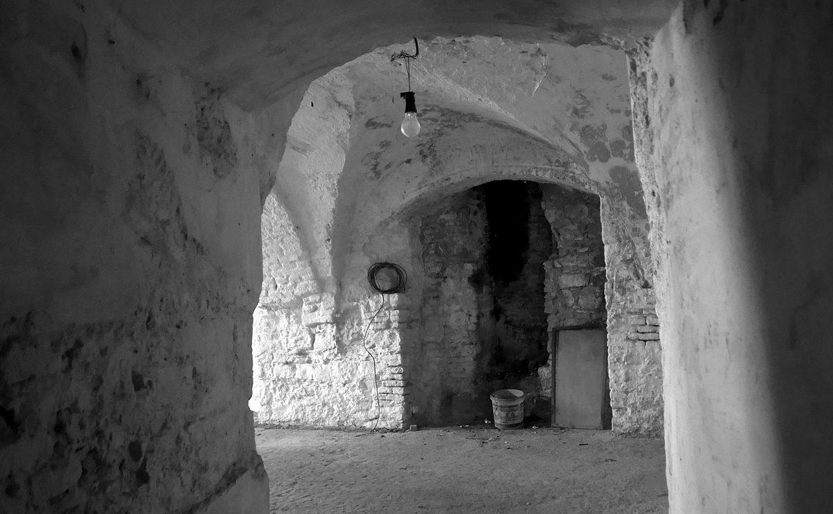 Poustevna v kostele Stětí sv. Jana na Vyšehradě