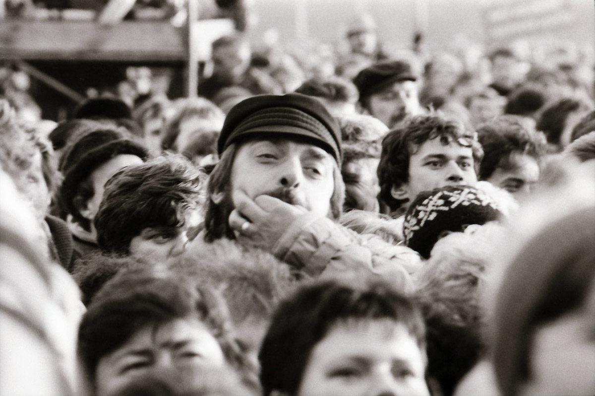 Sametová revoluce v listopadu 1989