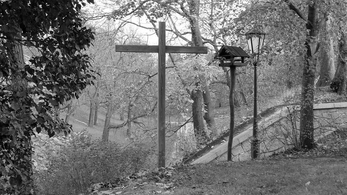Kříž na Vyšehradě