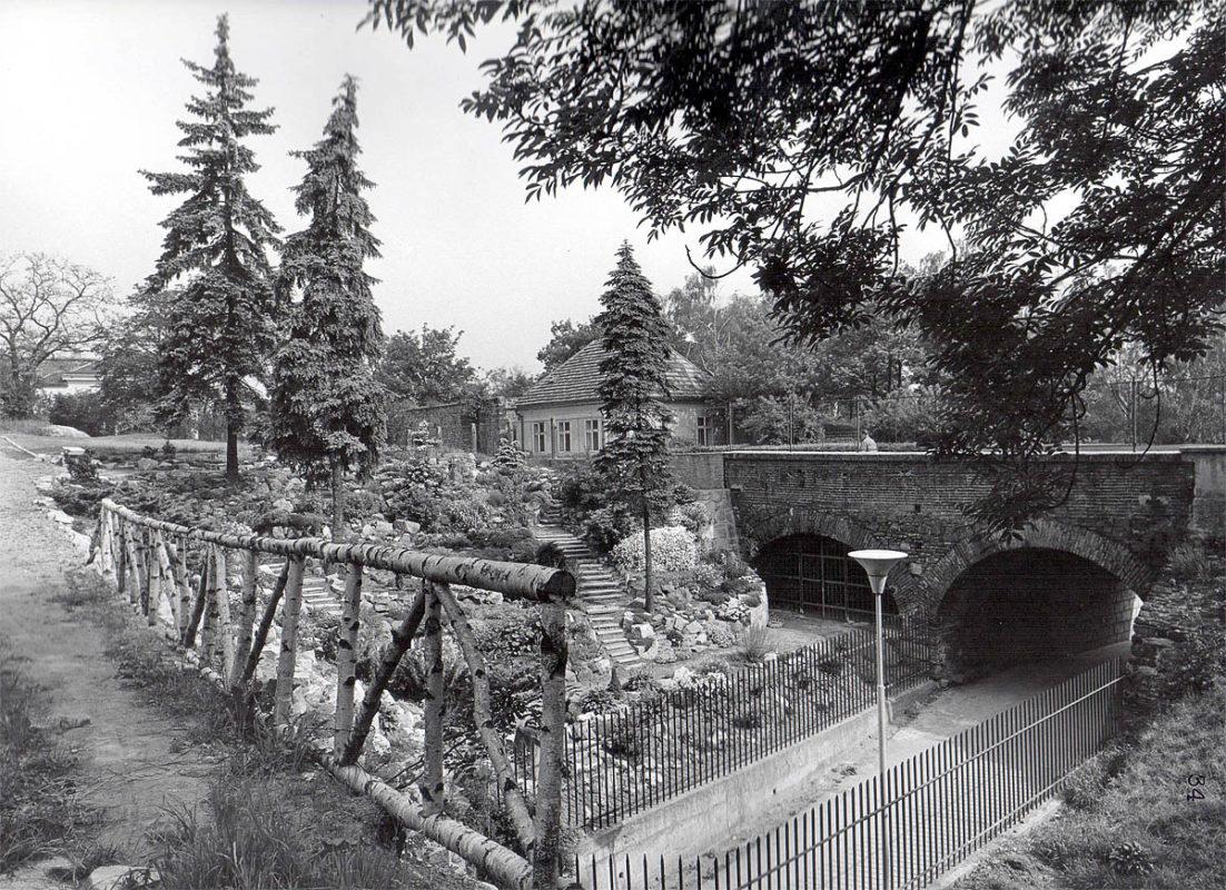 Vyšehrad, 1975 - zahrada Jedličkova ústavu