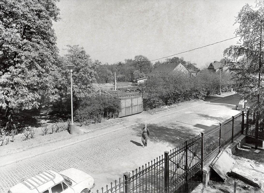 Vyšehrad, 1975 - provozní objekty zelinářství