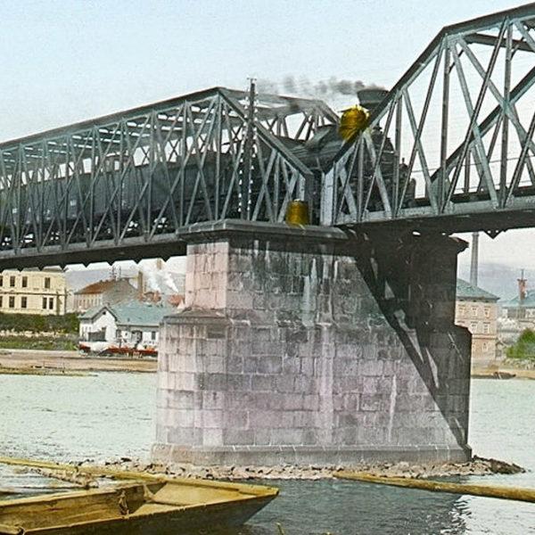 Výměna železničního mostu pod Vyšehradem – Část první: Zvednutí