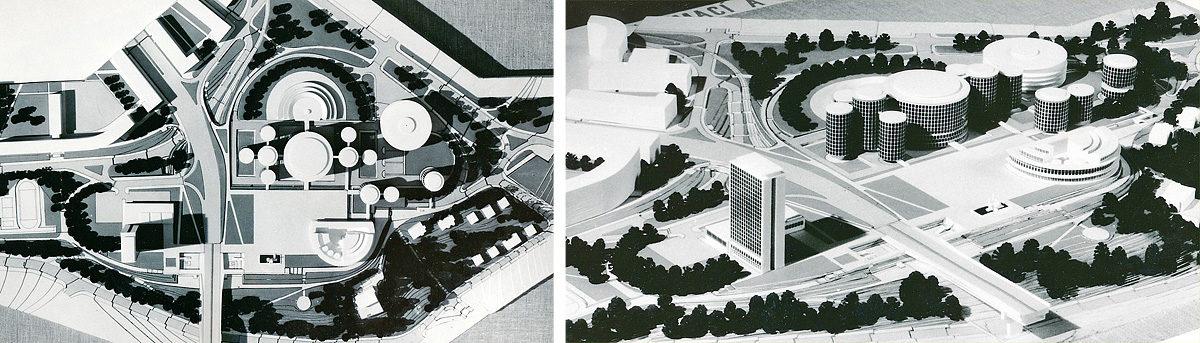 Projekt budov ČSAV na Pankráci - Paroubek, Todl, Čejka, Doutlík, Marhold