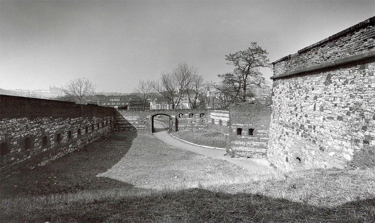 Vyšehrad, 1975 - bašta Kulatina
