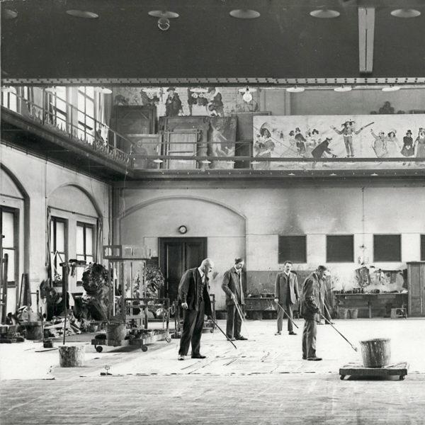 Dělníci Národního divadla