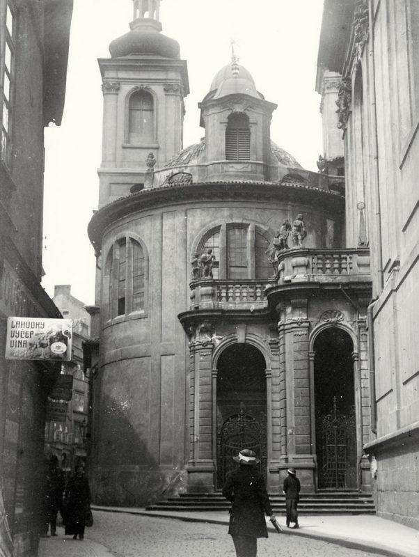 Kostel Nejsvětějšího Salvátora, 1914