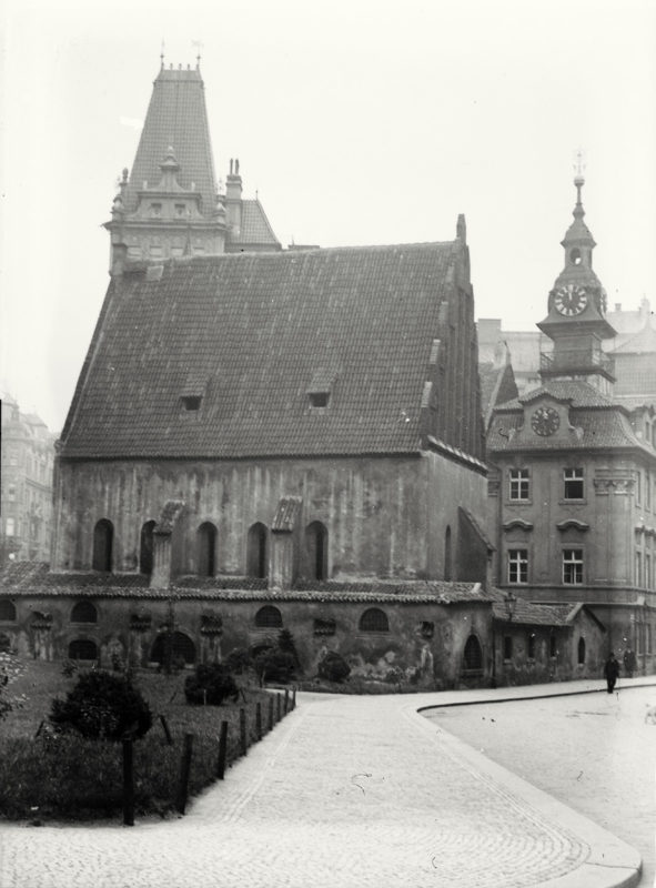 Staronová synagoga, 1914