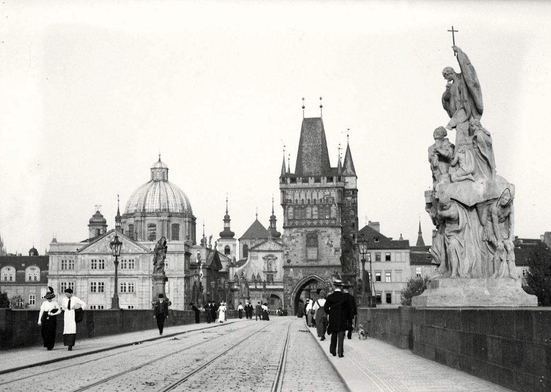 Karlův most, 1914