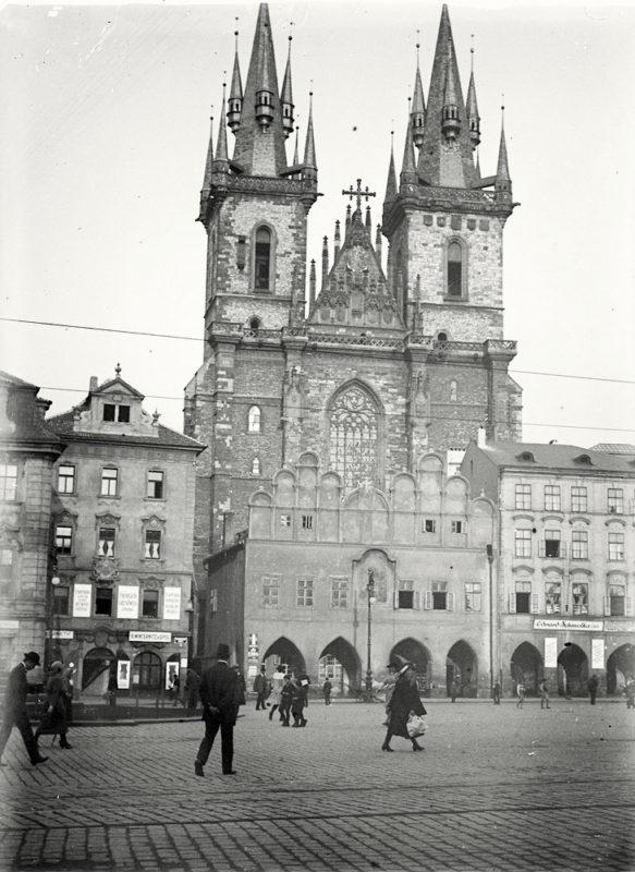 Týnský chrám, 1914