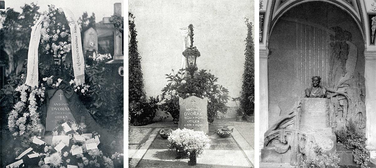 Hrob Antonína Dvořáka na Vyšehradě