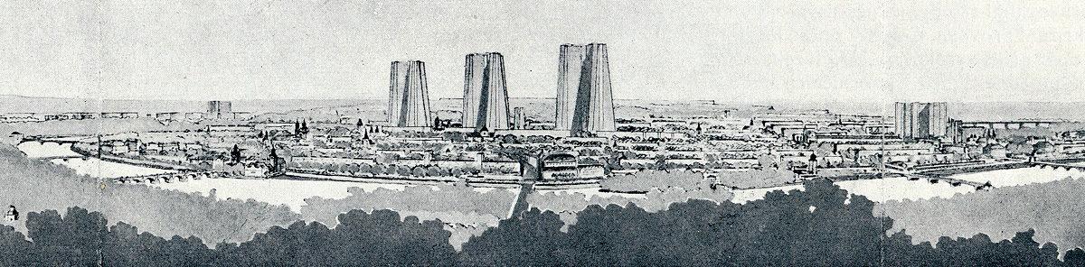 Josef Havlíček – Návrh přestavby pražského centra
