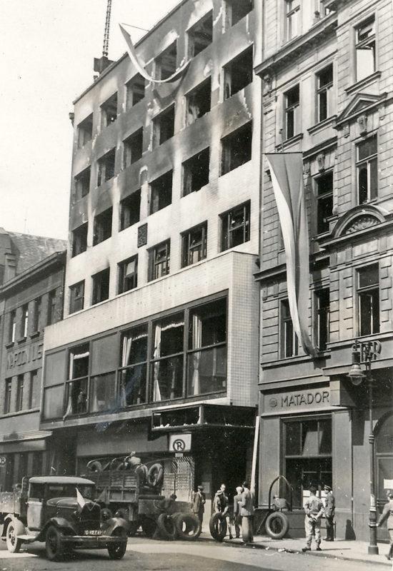 Pražské povstání – Budova ČTK v Opletalově ulici