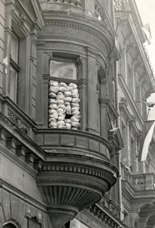 Pražské povstání – Kulometné hnízdo v Opletalově ulici