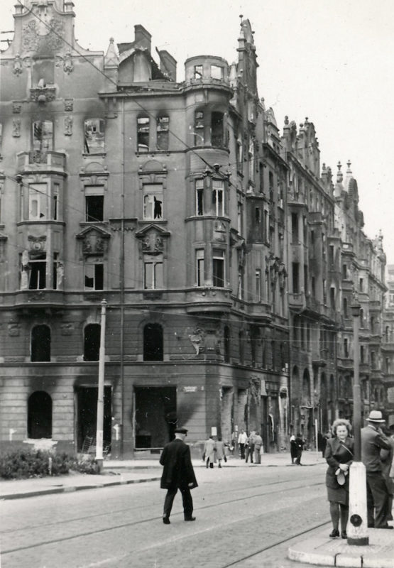Pražské povstání – Pařížská ulice