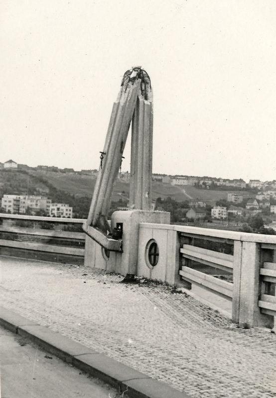 Pražské povstání – Trojský most