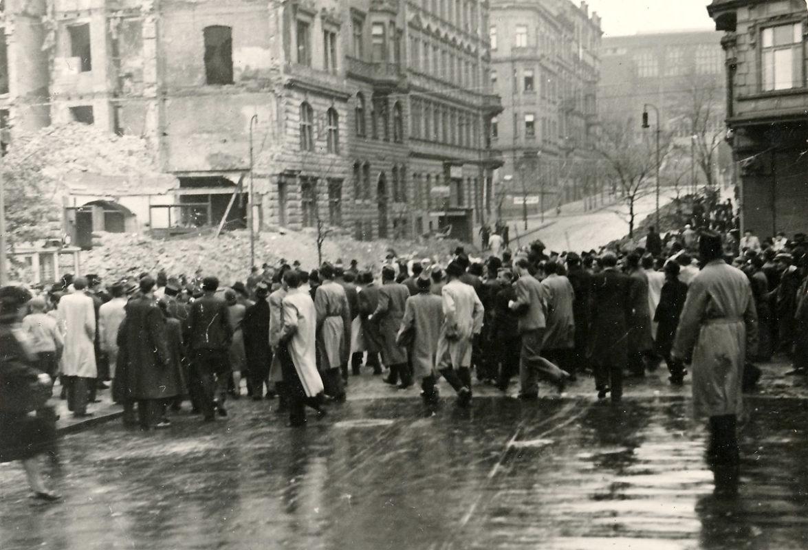 Pražské povstání – Vinohradská třída