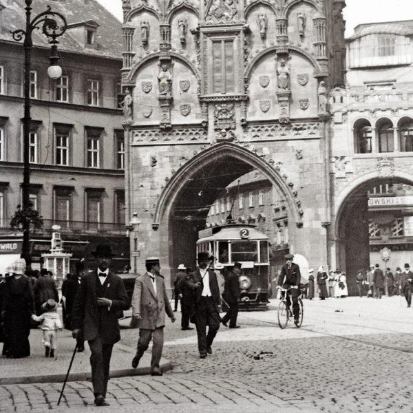 Reise nach Prag, 1914